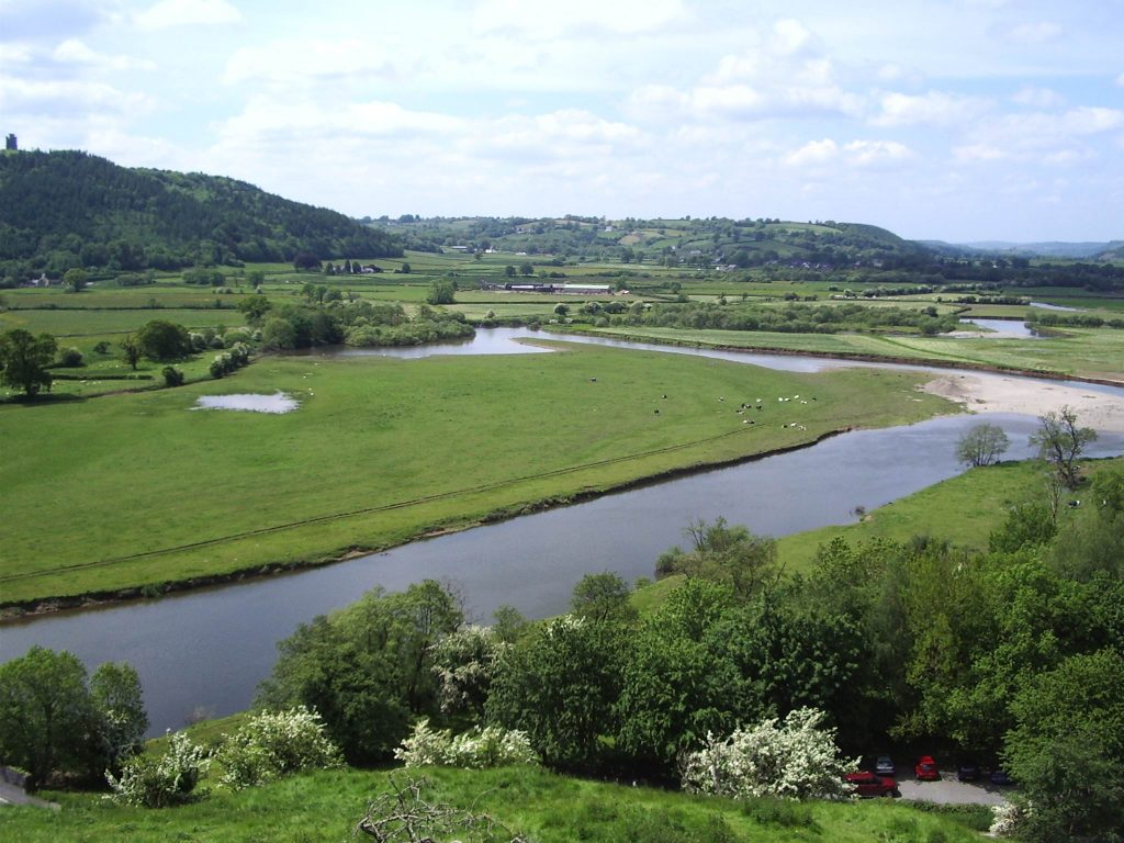 THE VALLEY OF THE RIVER TOWY