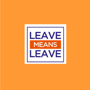 Support the Leave Means Leave Campaign