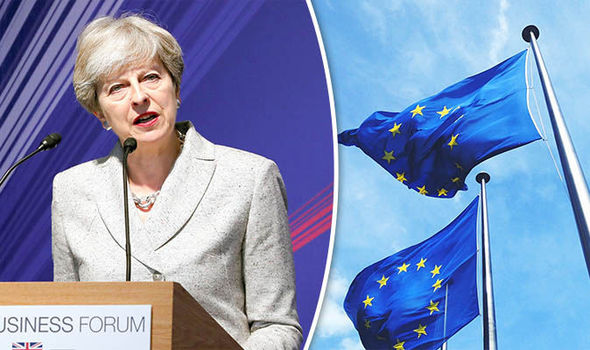 May sees Brexit as damage limitation