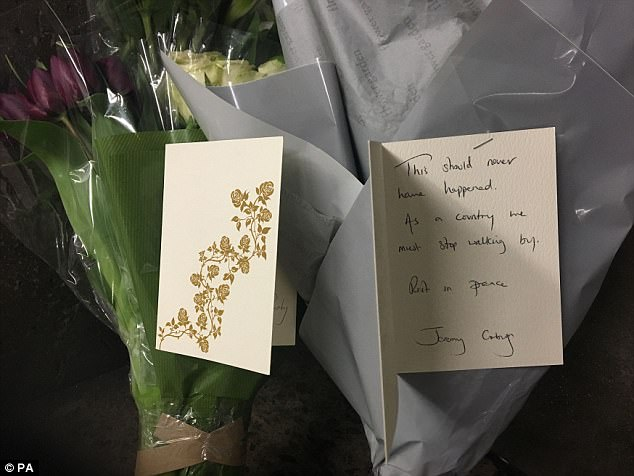 Jeremy Corbyn Laid Flowers at Site Where Homeless Man, Who Was In The UK Illegally, Died Yards From Parliament
